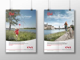 CNR – Territoire corporate, baseline, éléments de langage