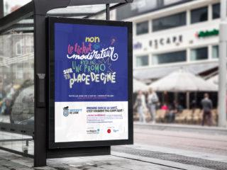 UNIVERSITÉ DE LYON – Campagne de communication santé