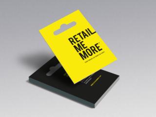 RETAIL ME MORE – Naming, branding, territoire de marque, site web