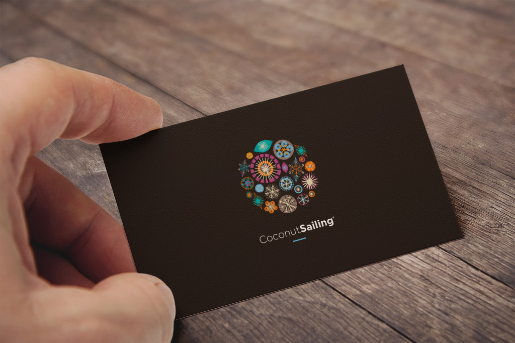 coconut Business Card MockUp